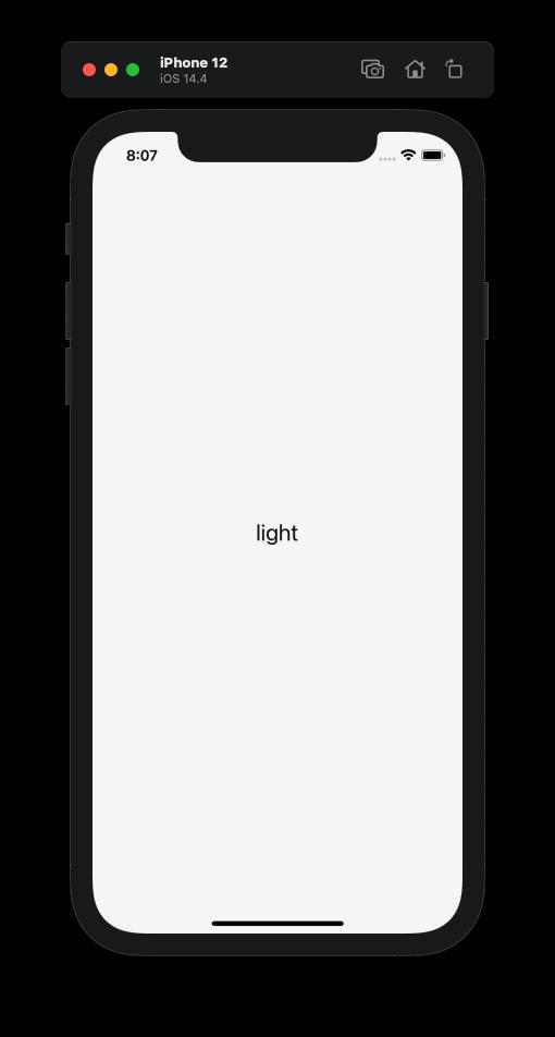 iOS Light.
